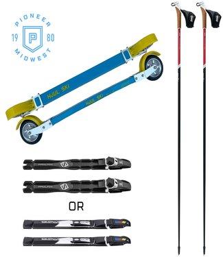 Pioneer Midwest Skate Rollerski Package