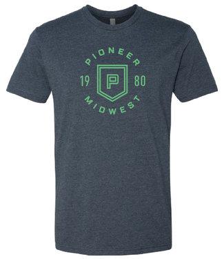 Pioneer Midwest Men's T-Shirt Navy
