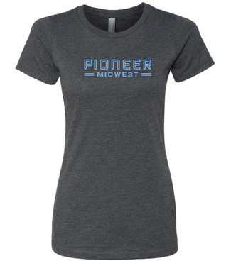 Pioneer Midwest Women's T-Shirt Gray