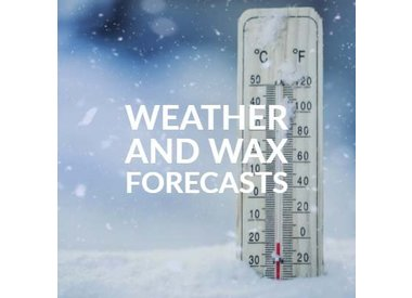 Weather and Wax Forecasts