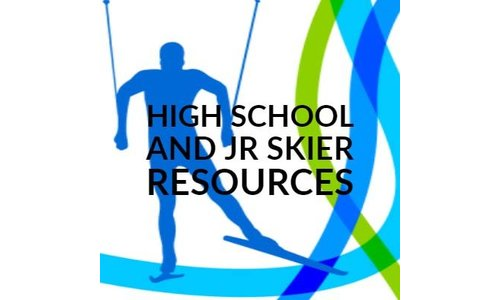 High School and JR Skier Resources