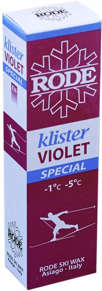 Rode Rode Violet Special Klister 60g