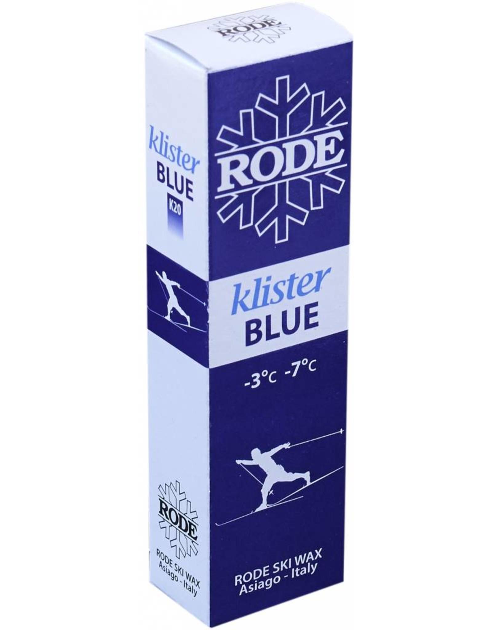 Rode Rode Blue Klister 60g