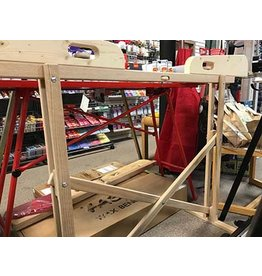 True North Woodworking Waxing Bench