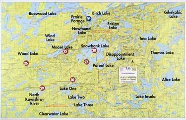 WA Fisher Map F-31 Ely Entry Point