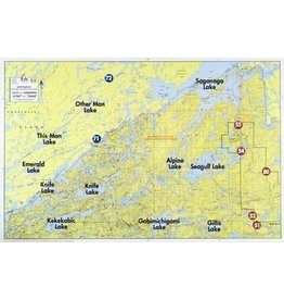 WA Fisher Fisher Map F-32 Special Seagull Area