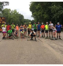 Pioneer Midwest Rollerskiing 101 Clinic: 5/14/18, 6:30pm at Elm Creek Swimming Pond