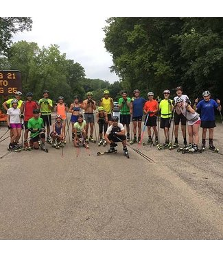 Pioneer Midwest Learn to Rollerski Clinic: 5/4/19, 9:00am at Elm Creek Swimming Pond