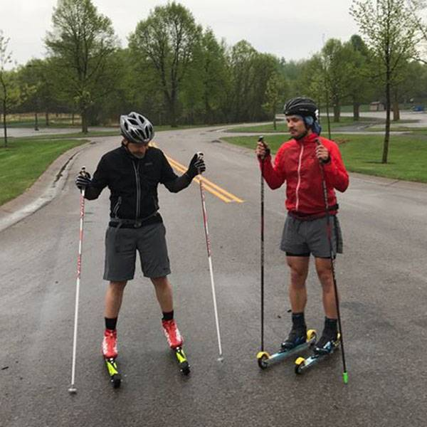 Pioneer Midwest Rollerskiing 101 clinic: 5/24/18, 6:30pm at Elm Creek Swimming Pond