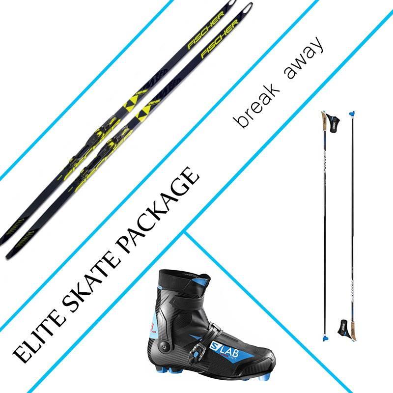 Salomon Elite Skate Package
