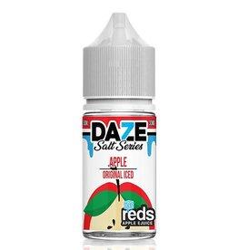 7 Daze Reds Apple Iced Salt Series 30ml