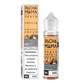 Pacha Mama Peach Papaya Coconut Cream 60ml