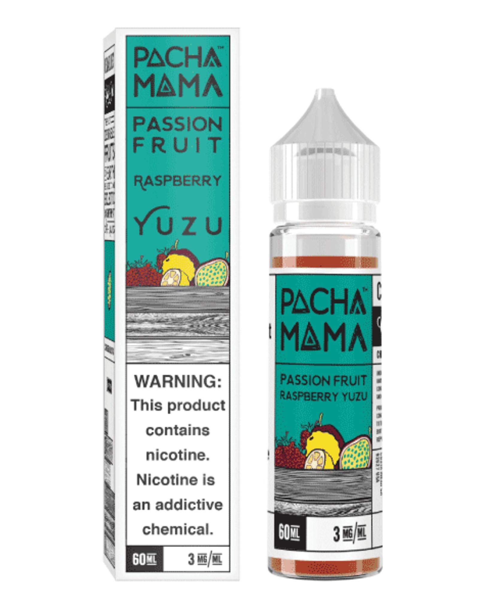 Pacha Mama Passion Fruit Raspberry Yuzu 60ml
