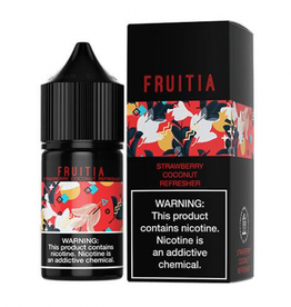 Fruitia Strawberry Coconut Refresher Nic Salt 30ml