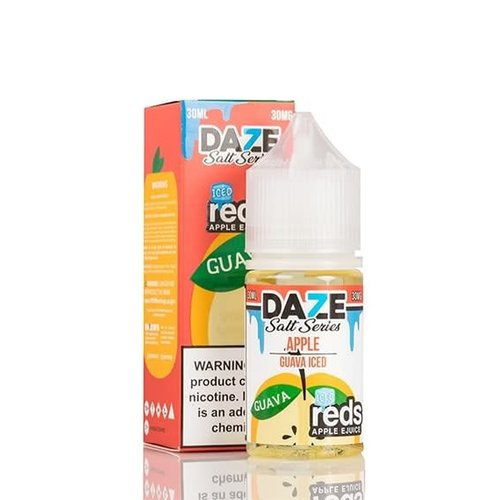 7 Daze Reds Apple Guava Iced Salt 30ml