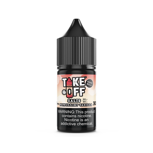Take Off Peppermint Vanilla Nic Salt 30ml