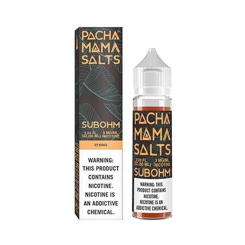 Pachamama Icy Mango SUB-OHM Salt 60ml