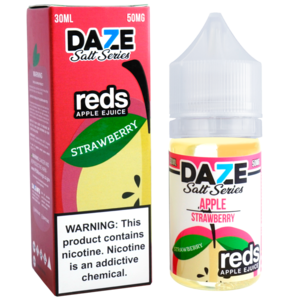 7 Daze Reds Apple Strawberry Salt 30ml