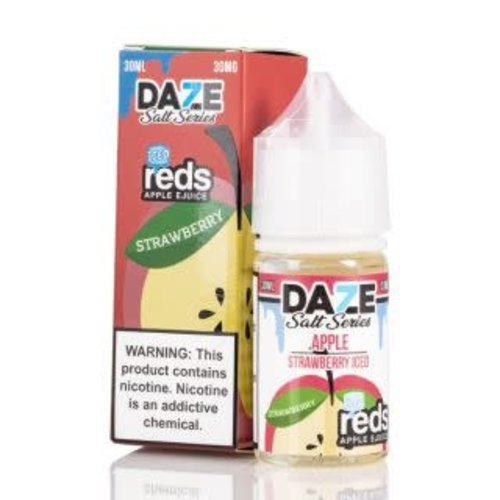 7 Daze Reds Apple Strawberry Iced Salt 30ml