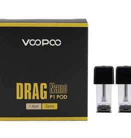 VooPoo 2-Pack Drag Nano P1 Pod