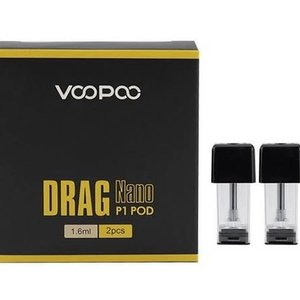 VooPoo Drag Nano P1 Replacement Pods (2-Pack)