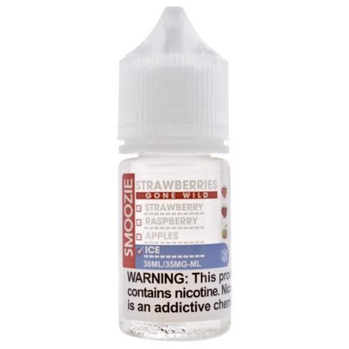 Smoozie Strawberries Gone Wild ICED Nic Salt 30ml