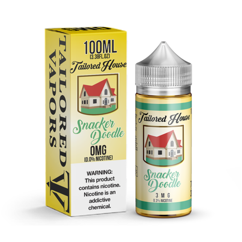 Tailored Vapors Snacker Doodle 100ml