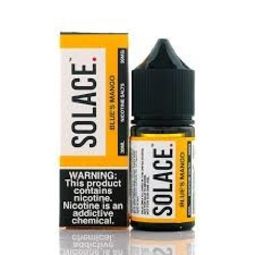Solace Vapor Blue's Mango Salts 30mL