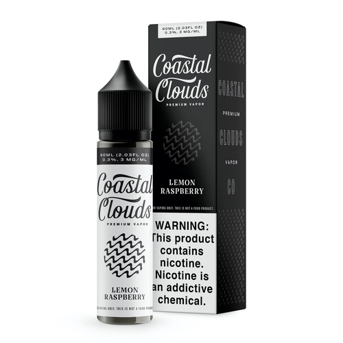 Coastal Clouds Lemon Raspberry (The Traveler) 60ml