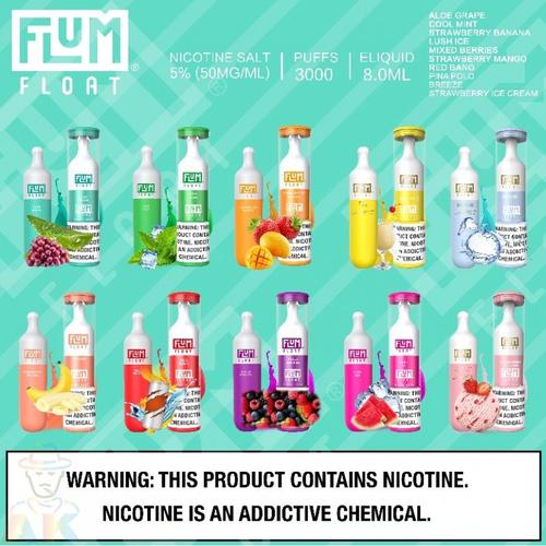 Flum Flum FLOAT Disposable 3000 Puffs 5%