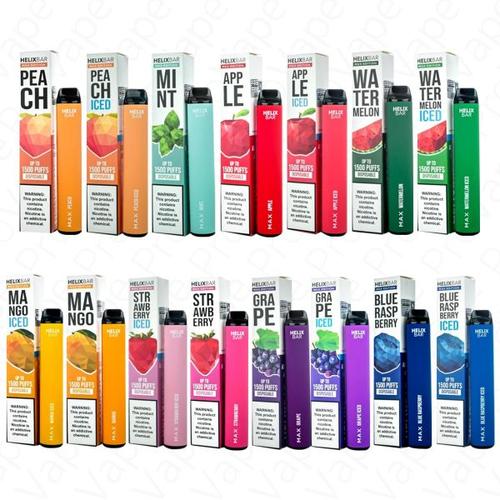 Helix Bar Helix Bar MAX  Disposable 1500 Puffs 5%
