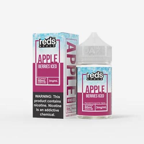 7 Daze Reds Apple Berries Iced 60ml