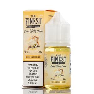 The Finest Creme De La Creme Collection - Vanilla Almond Custard Salt 30ml