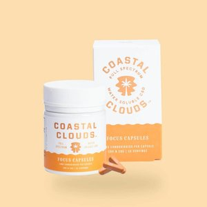 Coastal Clouds CBD Focus Capsules