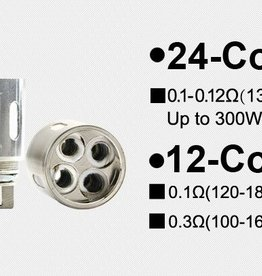 Horizon Tech 3-Pack Arctic V12 Coils 12-Coil