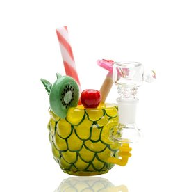 Empire Glassworks Mini Rig Pineapple Paradise