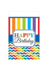 Bright Birthday Tablecover