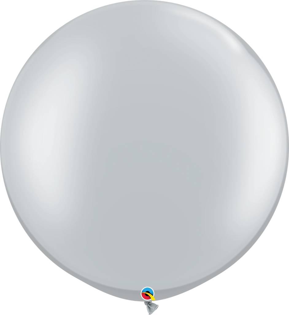 "30"" Balloon Silver Flat"