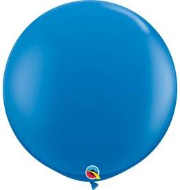 "36"" Balloon Dark Blue Flat"