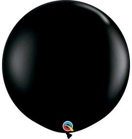 """36"""" Balloon Onyx Black Flat"""
