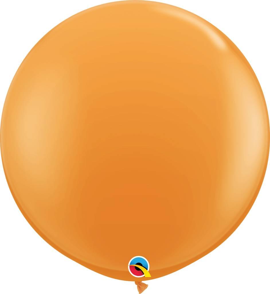 """36"""" Balloon Orange Flat"""