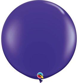 "36"" Balloon Quartz Purple Flat"