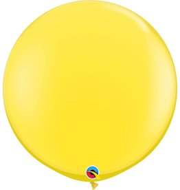 "36"" Balloon Yellow Flat"
