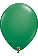 "16"" Balloon Green 1 Dozen Flat"