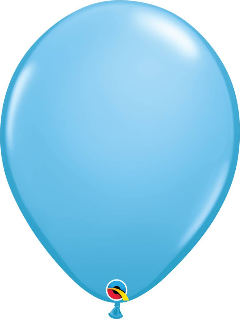 "16"" Balloon Pale Blue 1 Dozen Flat"