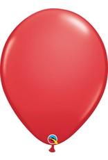 "16"" Balloon Red 1 Dozen Flat"