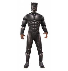 Men's Costume Black Panther Deluxe Standard