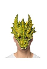Supersoft Fantasy Dragon Mask Green