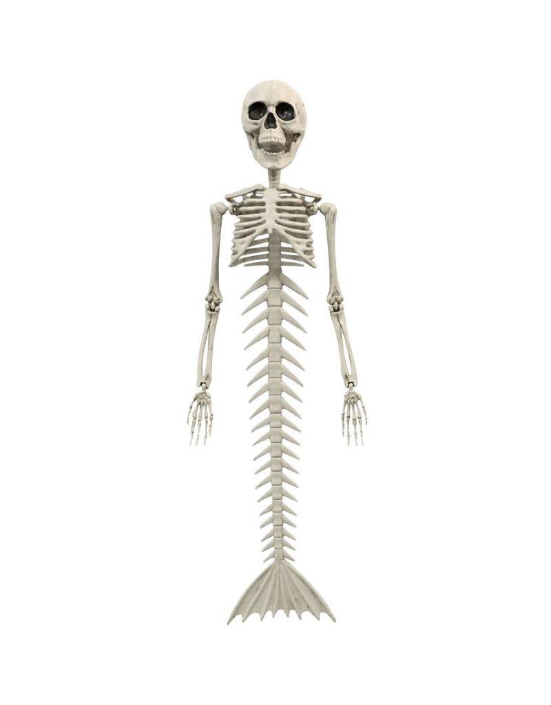 """18"""" Skeleton Mermaid"""
