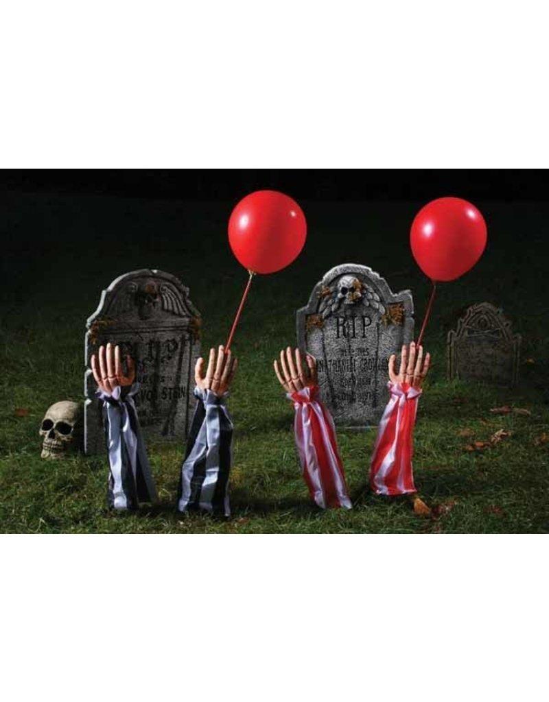 Creepy Clown Grave Breaker Red/White